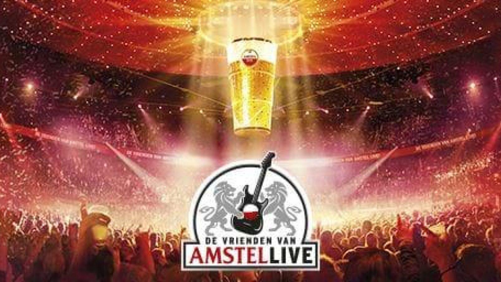Vrienden van Amstel Live ivm Corona uitgesteld