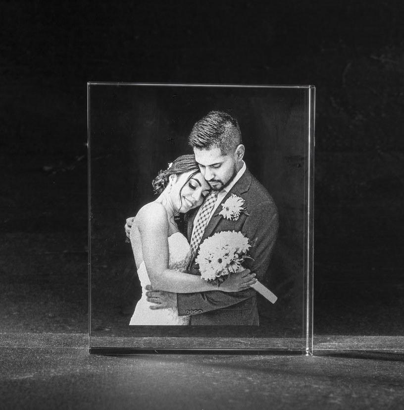 Foto in glas Iceberg huwelijk