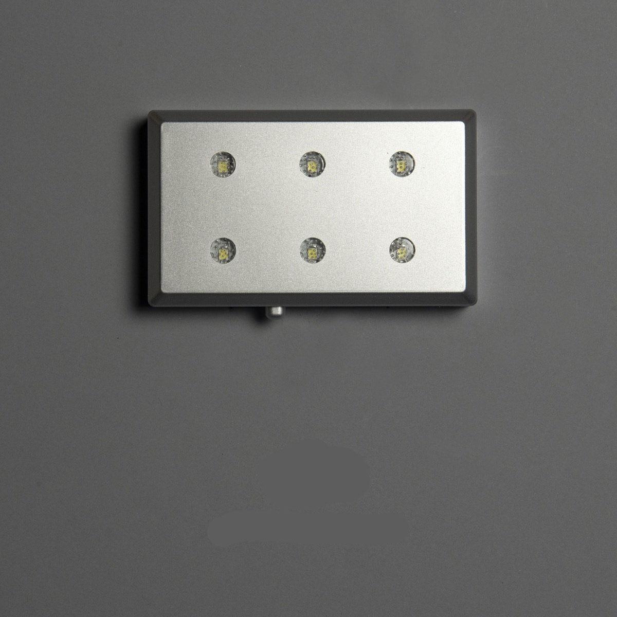 Foto in glas LED opbatterijen 6lampen