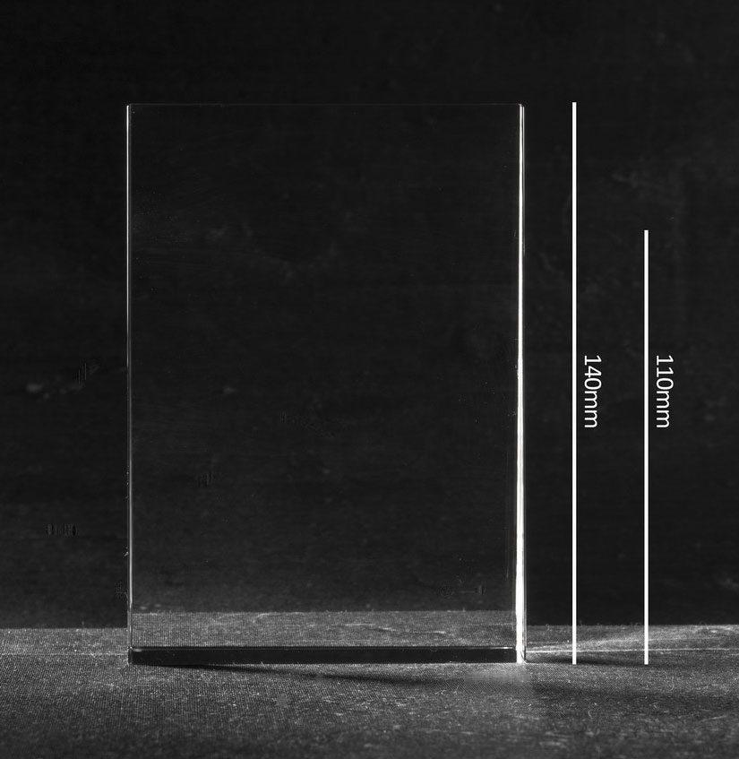 Foto in glas Laddershape